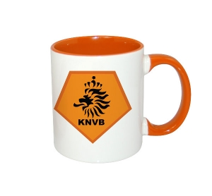11oz Inner Rim Color Mug-Orange