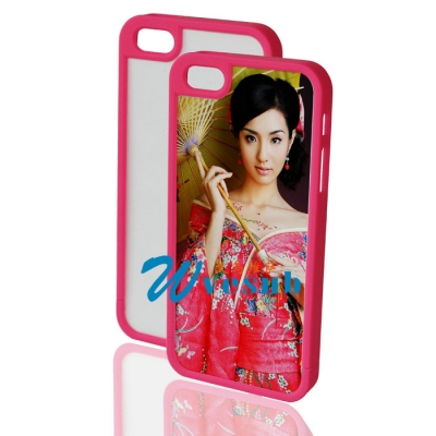 iPhone 5 Plastic Frame-Rose