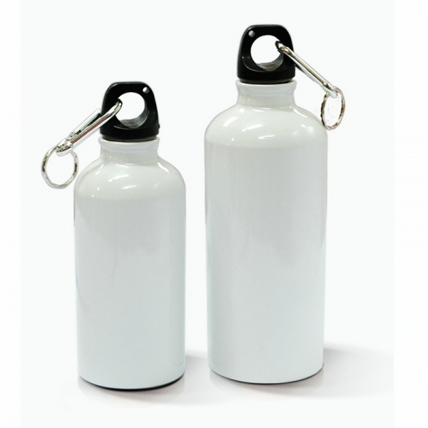500ml Aluminium Water Bottle-White