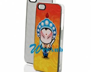 Sublimation Printable Phone Covers for iPhone 5 5s Blank Cover-Transparent