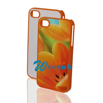 Sublimation Cover Case for Iphone 4s-Orange