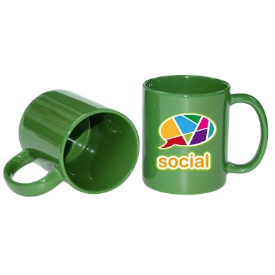 11oz Full Color Mugs-Green