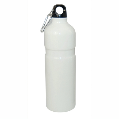 750ml Aluminium Water Bottle-White