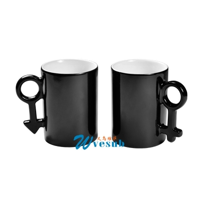 11oz Sublimation Couple Color Changing Mug