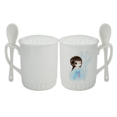 Spoon Mug with Cover