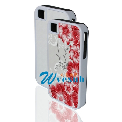 Multi-Protective iPhone 4/4s Cover(2-in-1)-White