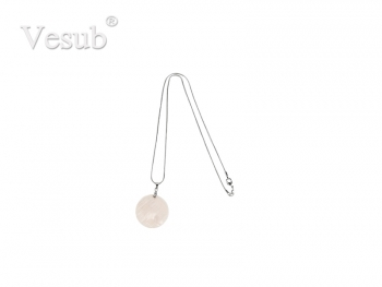 Round Shell Necklace (φ30mm)