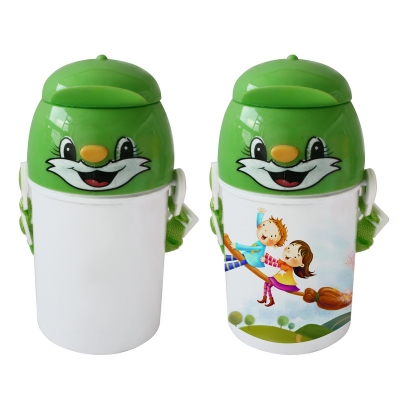 Sublimation Kids Water Bottle-Green