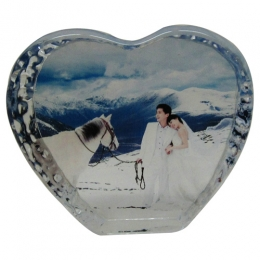 80 Heart Photo Crystal