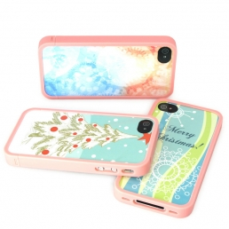 iPhone4/4S Plastic Frame-Pink