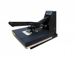 Flat Clamshell Press-with 2 in 3 display