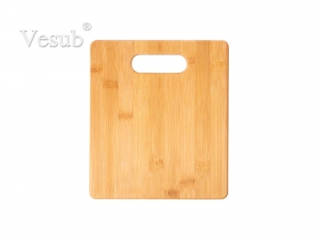 Bamboo Cutting Board (19.2*22.22*1.1cm) MOQ:1000pcs