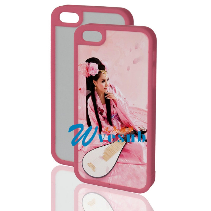 iPhone 5 Plastic Frame-Pink