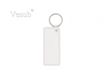 PU Leather Key Chain (Rectangular)