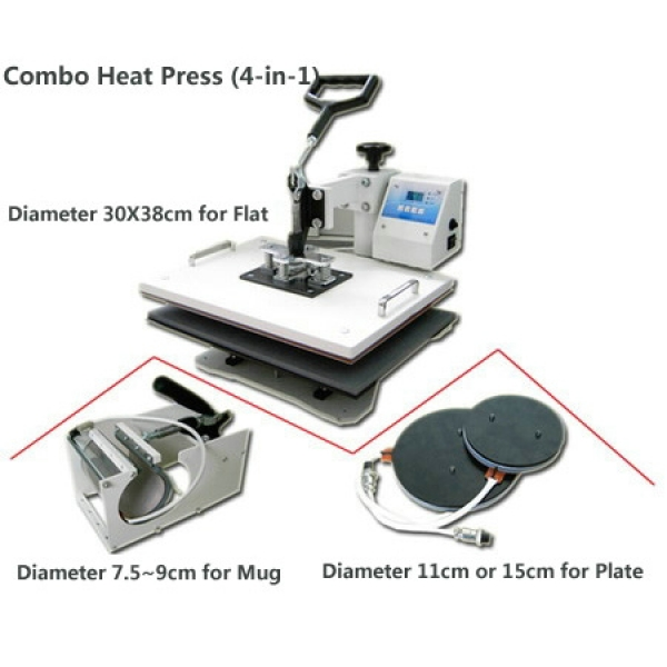 Combo Heat Press (4-in-1)