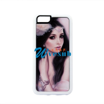 Rubber iPhone 6 Blank Sublimation Phone Case