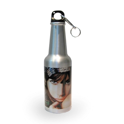 400ml Aluminium Beer Bottle-Silver