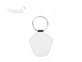 PU Keychain (4.5*5cm, Double Sides Printable)