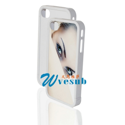 Dye Sublimation Transfer iPhone4/4s Frame-White