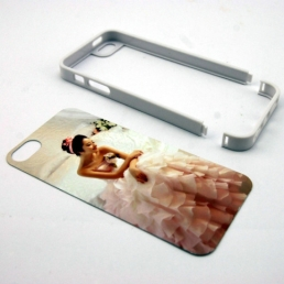 iPhone 5 Plastic Frame-Brown