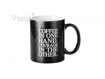 11oz Engraving Color Changing Mug (Coffee Motto)