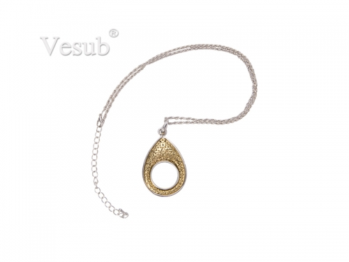 Fashion Noosa Necklace( Teardrop)