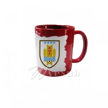 11oz New Sublimation Red Color Coated Mug