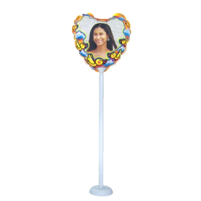 18cm Photo Balloon-Heart