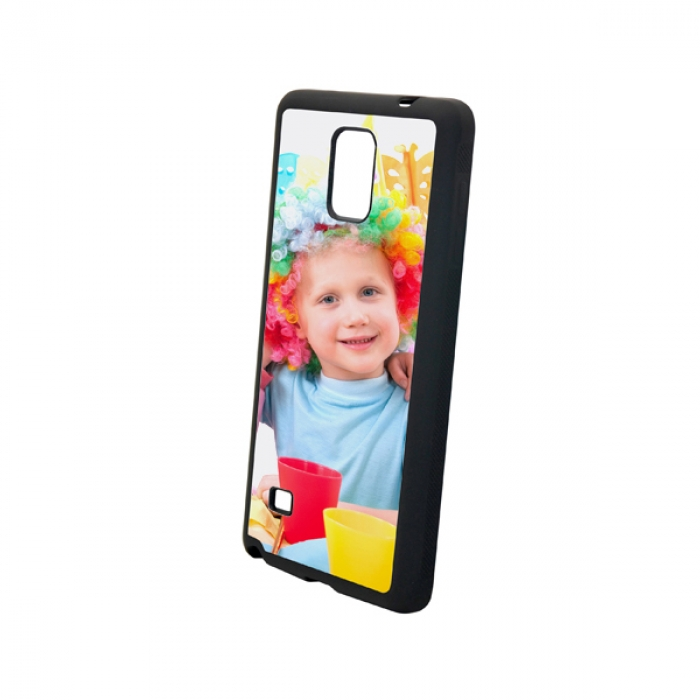 TPU Samsung Galaxy Note 4 Cover-Black