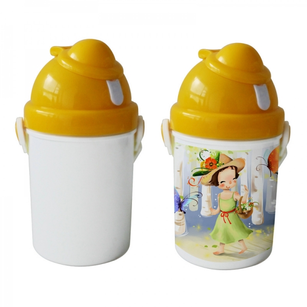 Sublimation Cute Bottle-Yellow