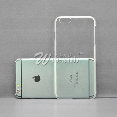 High Quality Sublimation Coated 3D Apple iPhone 6 Plus 5.5 Clear Glossy Cases