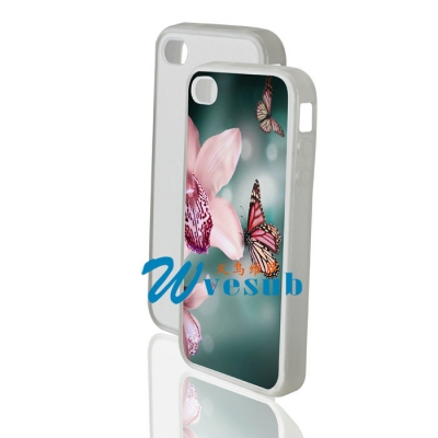 Silicone Sublimation iPhone 4/4s Cover