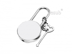 Round Sublimation Lock