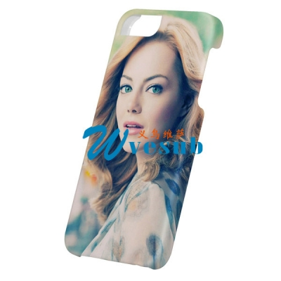 3D Frosted Sublimation iPhone5C Cover