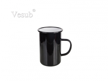 15oz/450ml Enamel Mug (Black) MOQ:2000pcs