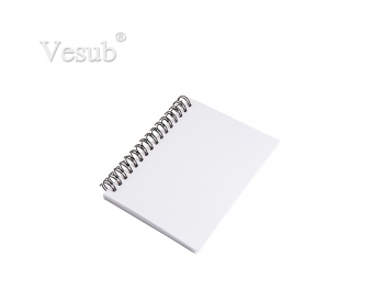 A6 Wiro Fabric Notebook