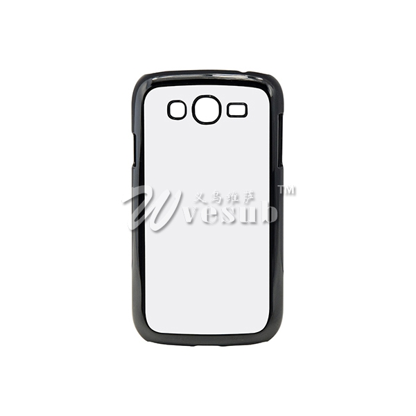 Samsung Grand Neo Sublimation Plastic Mobile Phone Case Cover with Metal Inserts