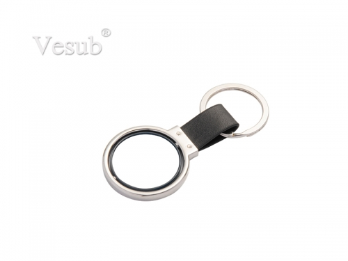 PU Key Chain(Rotating Circle)