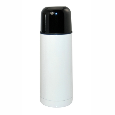 350ml Thermo Bottle-Silver-White