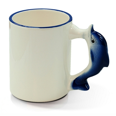 11oz Animal Mug-Dolphin
