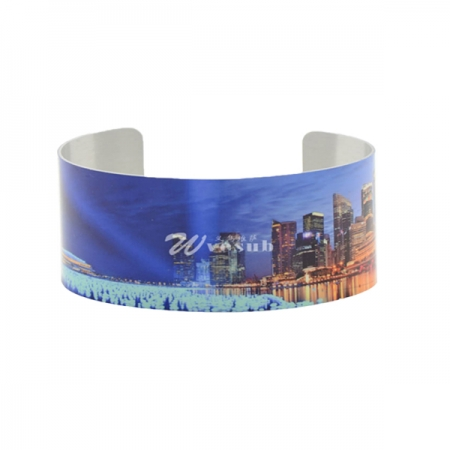 Sublimation Aluminum Bracelet(4.2*16.9cm)