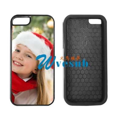 Black 2-in-1 iPhone 5S Cover
