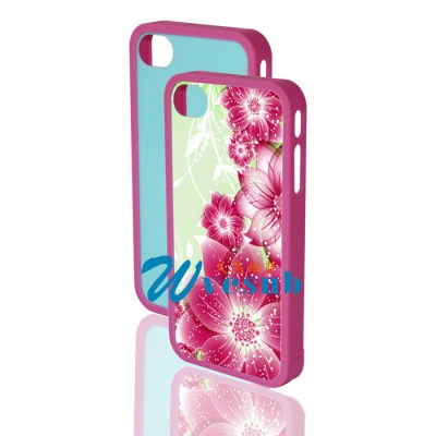 Sublimation Blank Case for iPhone4/4S-Rose