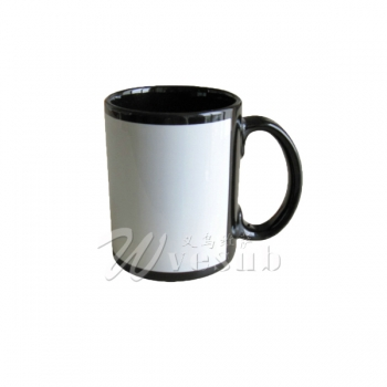 15oz Full Color Mug-Black