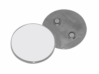 Round Metal Fridge Magnet