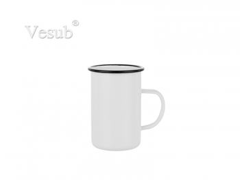 15oz/450ml Enamel Mug (White)