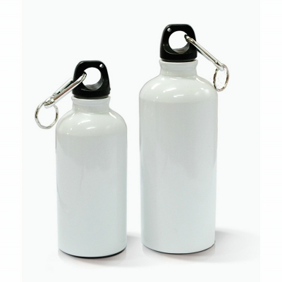 400ml Aluminium Water Bottle(White)