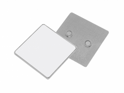 Square Metal Fridge Magnet