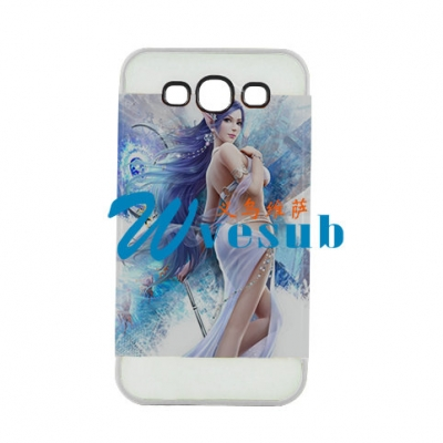 2 in 1 3D Samsung S3 Frosted Card Insert Cover-White