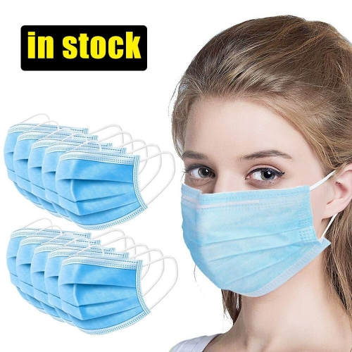 Disposable 3 Ply Surgical Face Mask Anti Virus Medical Ear-loop Masks in Stock